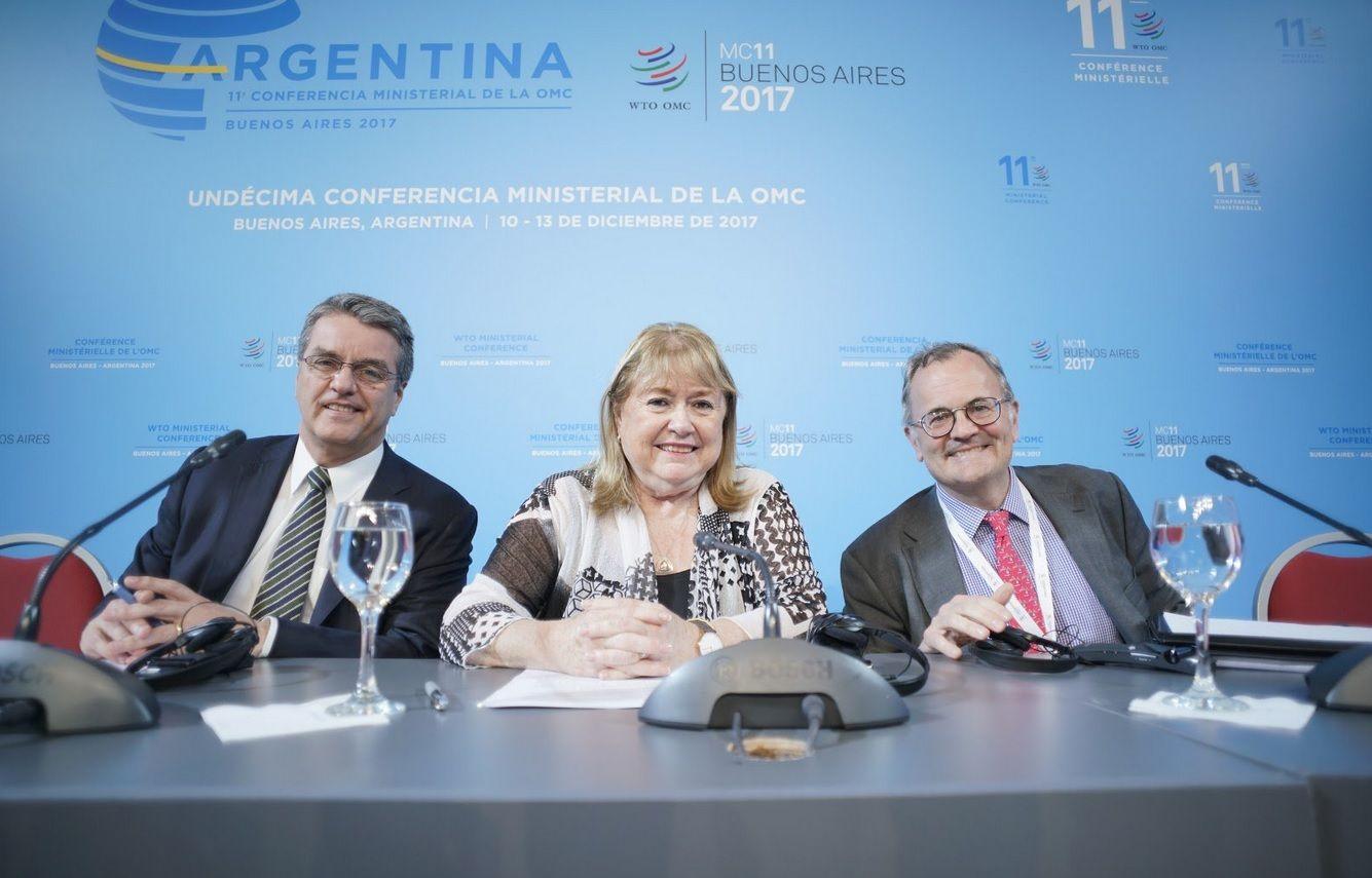 Terminó la Cumbre de la OMC