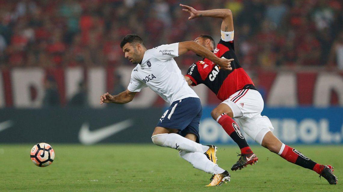 Gigliotti escapa a la marca del hombre de Flamengo