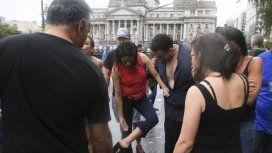 Victoria Donda exhibe los golpes que denunció sufrir