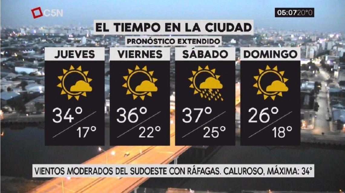 Pronóstico del tiempo extendido del jueves 14 de diciembre de 2017