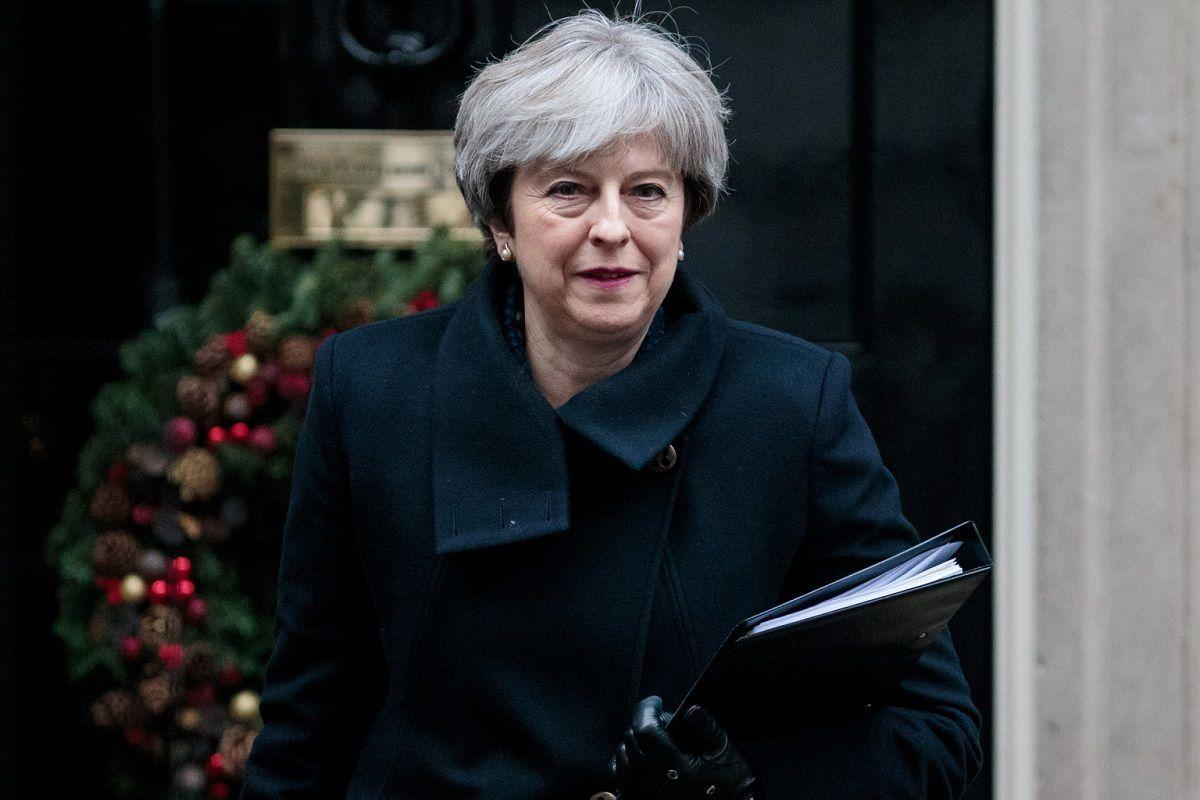 El mensaje de Theresa May a los kelpers por la Navidad