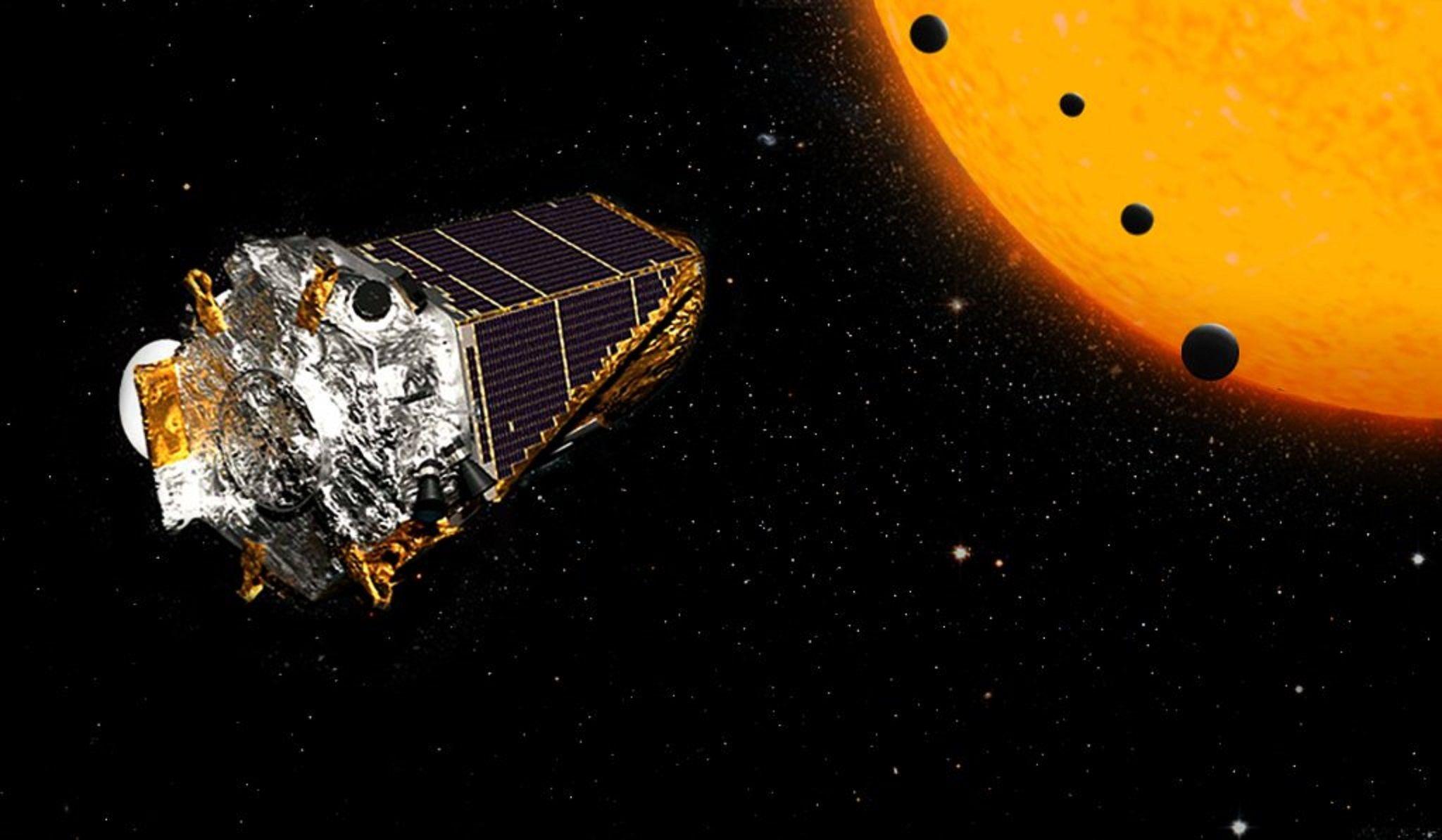 La NASA descubrió un sistema solar de 8 planetas parecido al nuestro
