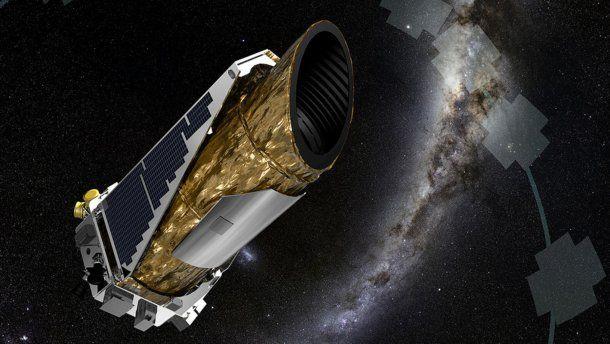 El telescopio Kepler, de la NASA.