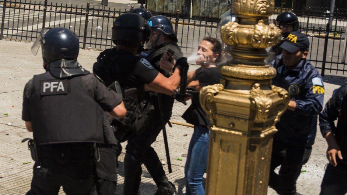 El brutal ataque a Mayra Mendoza