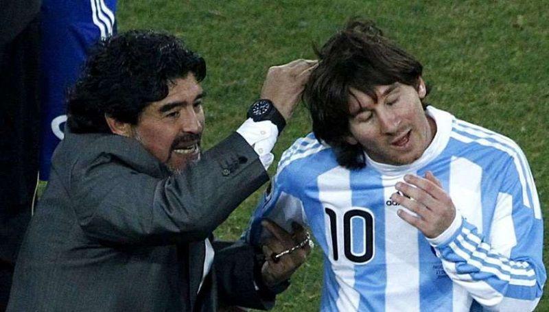 Diego Maradona criticó a Messi por su falta de liderazgo