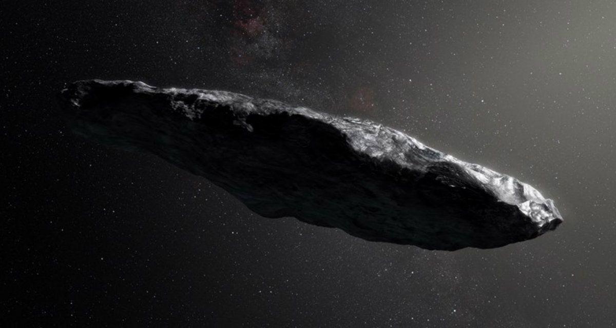 El asteroide oumuamua podría contener alguna forma de vida