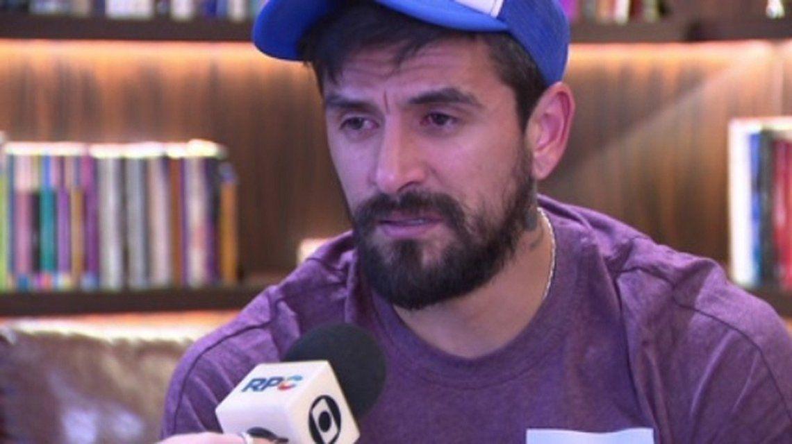 Lucho González fue acusado por violencia de género - Crédito: @globoesportecom