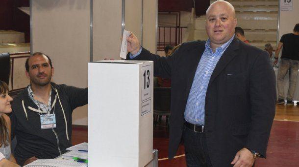 Antonio Caselli, candidato a presidente de River - Crédito: @CARPoficial<br>