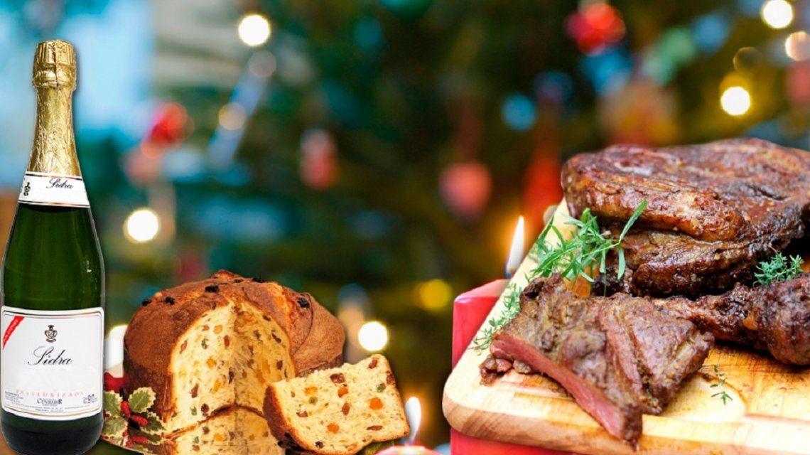 La cena de Navidad para cuatro, un 22 por ciento más cara que en 2016