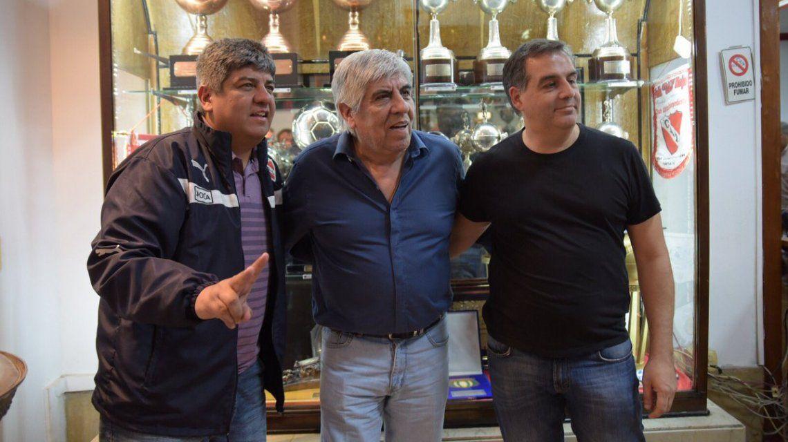 Moyano fue reelecto en Independiente - Crédito:@Independiente