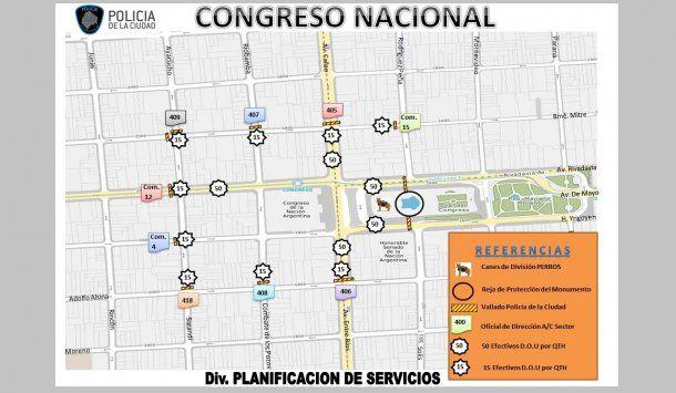 Planificación de servicios de la Policía de la Ciudad<br>