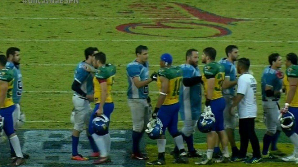 ef472a6e3 Un clásico sudamericano diferente  Argentina perdió ante Brasil por ...