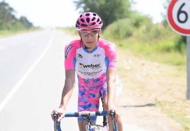 Cristina fue uno de los primeros fichajes del Shimano Ladies Power, único equipo latinoamericano que corre a nivel mundial (UCI).