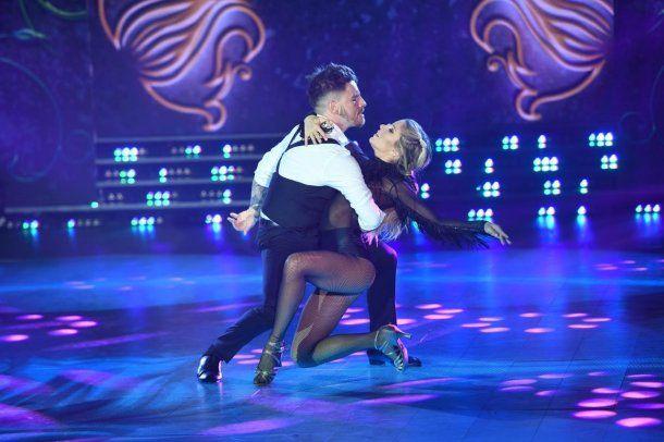 Fede Bal y Laurita Fernández y su sensual tango<br>