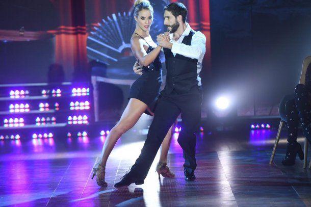 Flor Vigna irradió sensualidad en el tango<br>