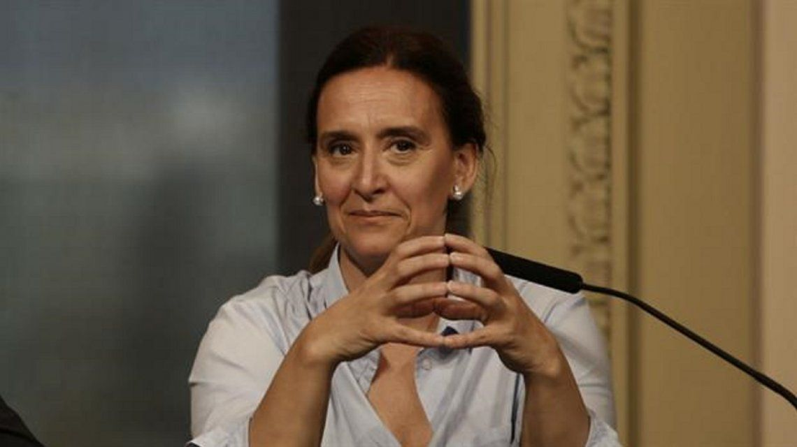 Vicepresidenta Gabriela Michetti