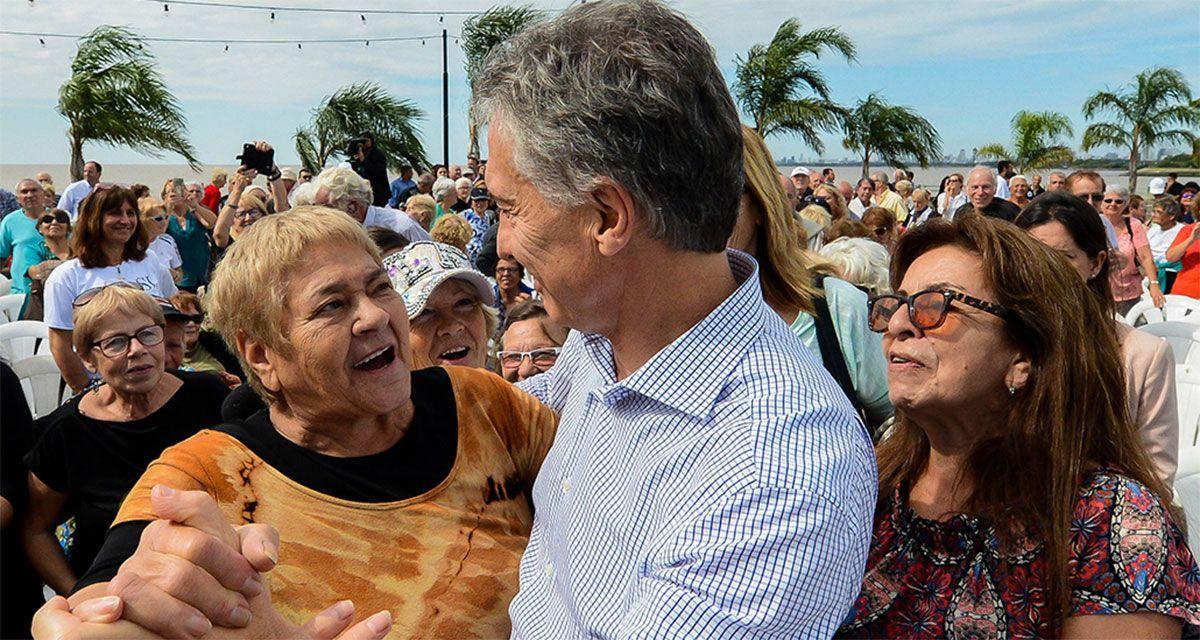 Mauricio Macri y los jubilados