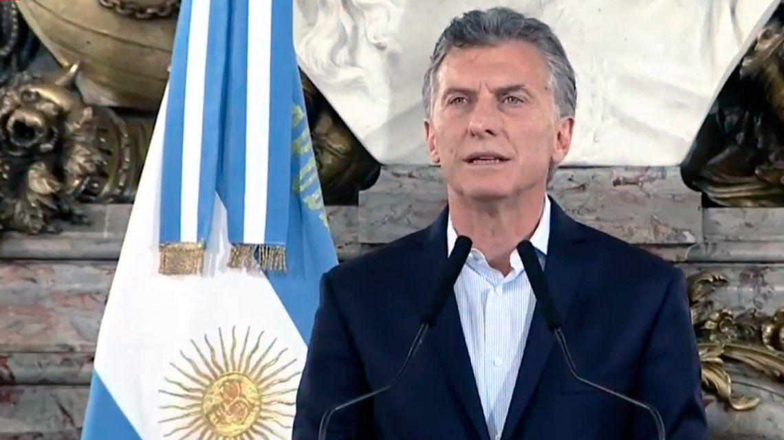 Macri tras la reforma: La prioridad es cuidar a los jubilados