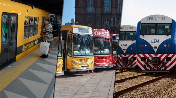 Se normalizó el transporte en la Ciudad y el Conurbano tras el paro de la CGT<br>