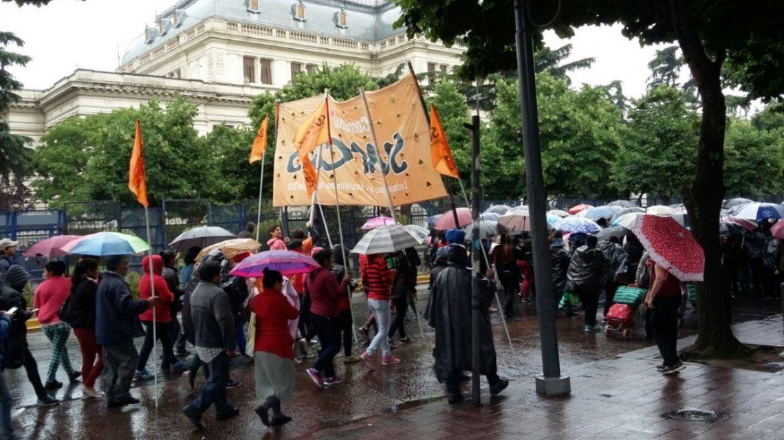 La Legislatura bonaerense, blindada: tratan la reforma jubilatoria de bancarios
