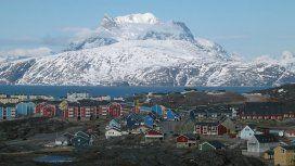 Groelandia es parte de Dinamarca, pero está tan aislada que es un refugio ideal