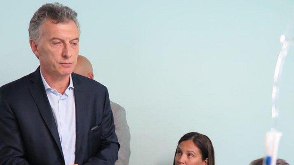 Mauricio Macri con Maximiliano Russo