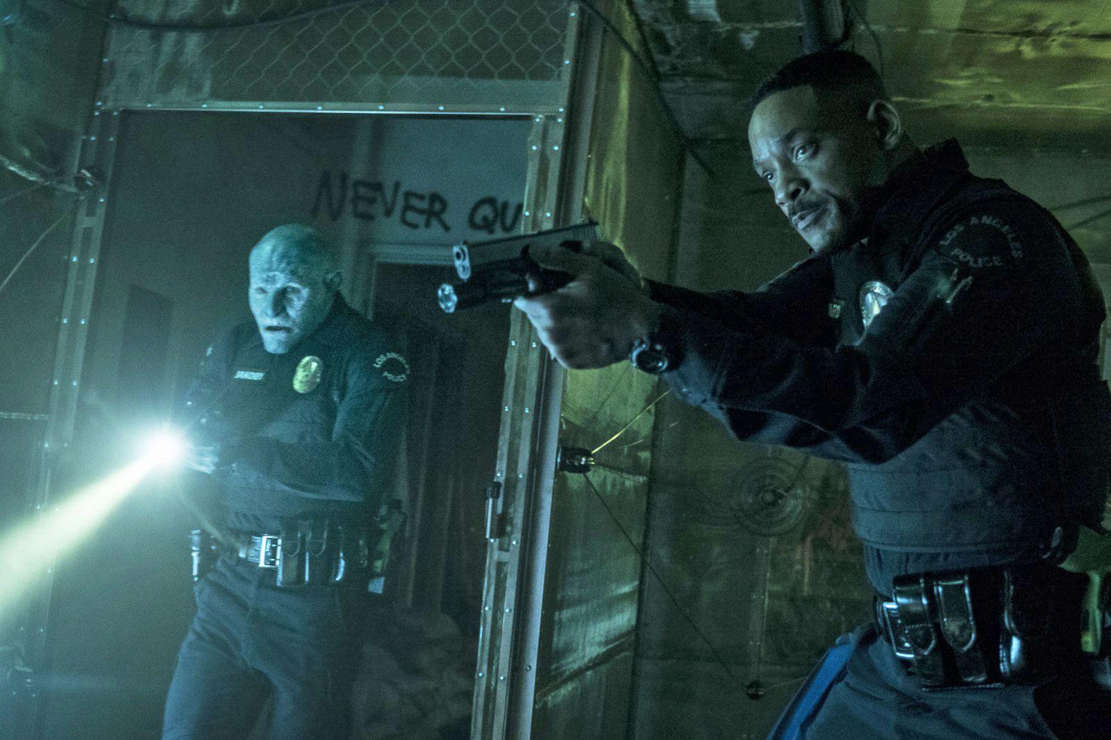 Orcos, elfos, humanos y Will Smith: Bright, el nuevo policial de Netflix