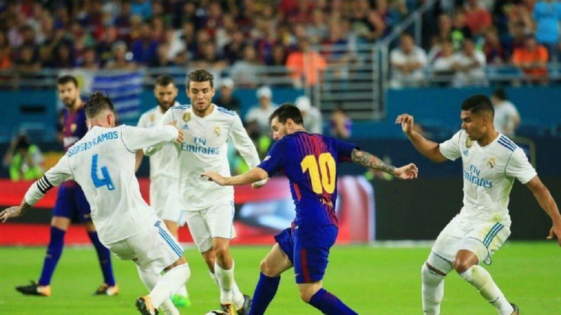 El insólito horario del clásico Real Madrid-Barcelona para satisfacer a los chinos