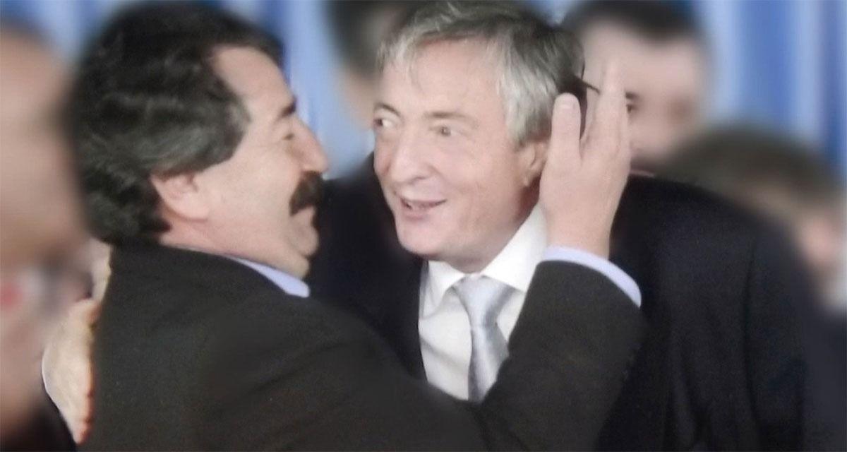 Aldo San Pedro y Néstor Kirchner