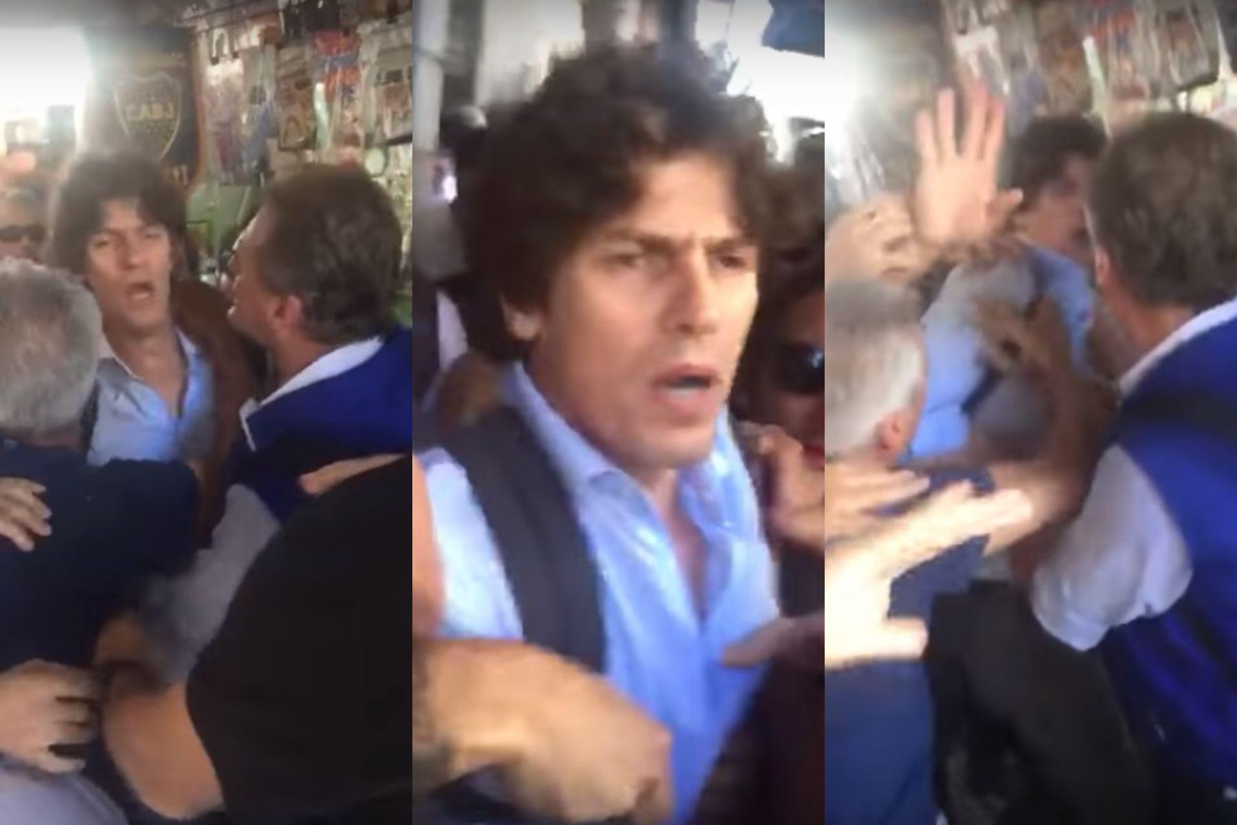 Agredieron a Martín Lousteau en una manifestación contra la reforma del Bapro
