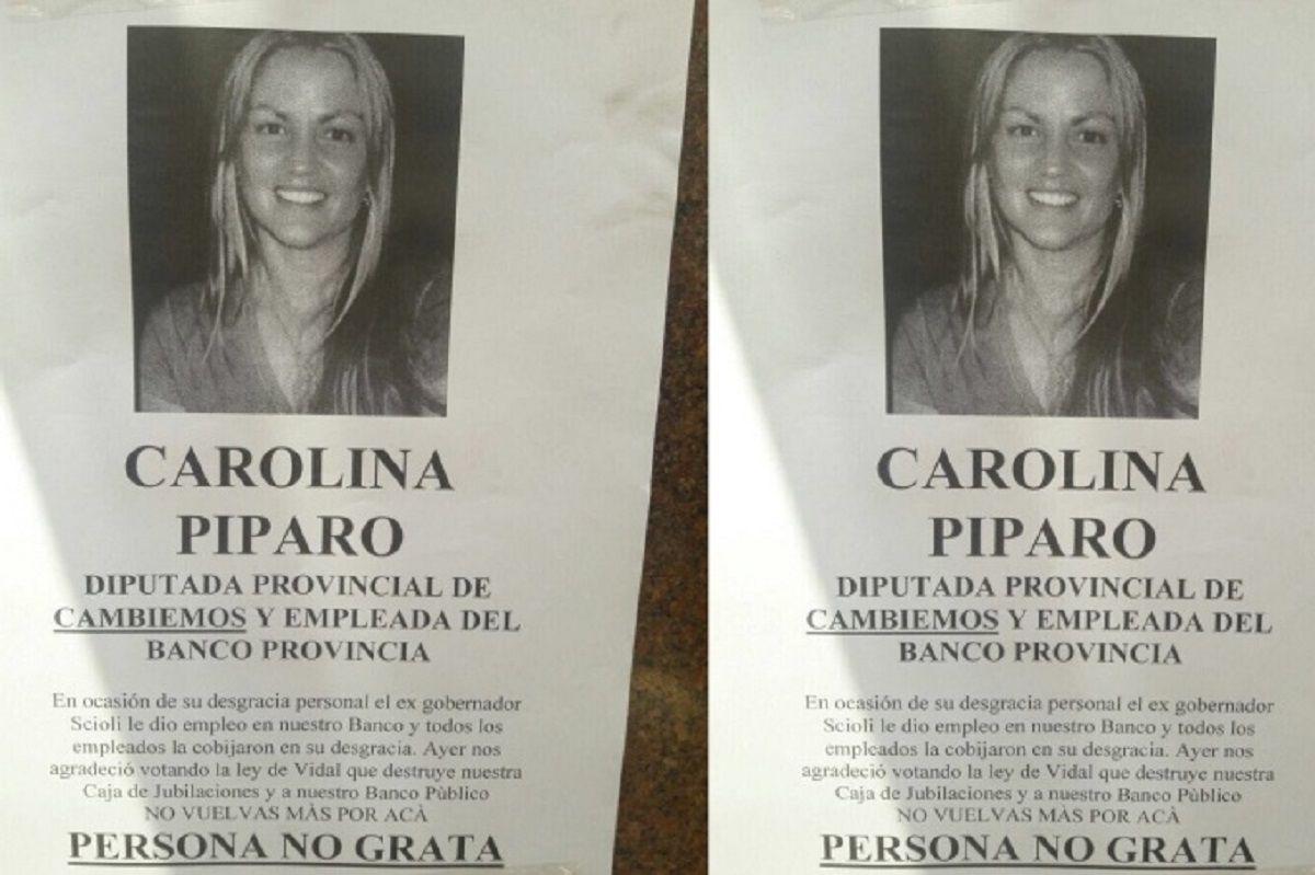No vuelvas más: empleados del Bapro declararon persona no grata a Carolina Píparo