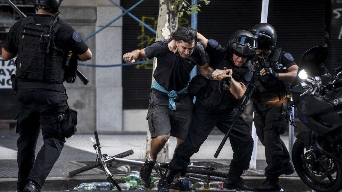 Buscan que los manifestantes violentos no sean excarcelados