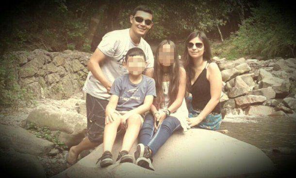 Ramiro Arjona y su familia
