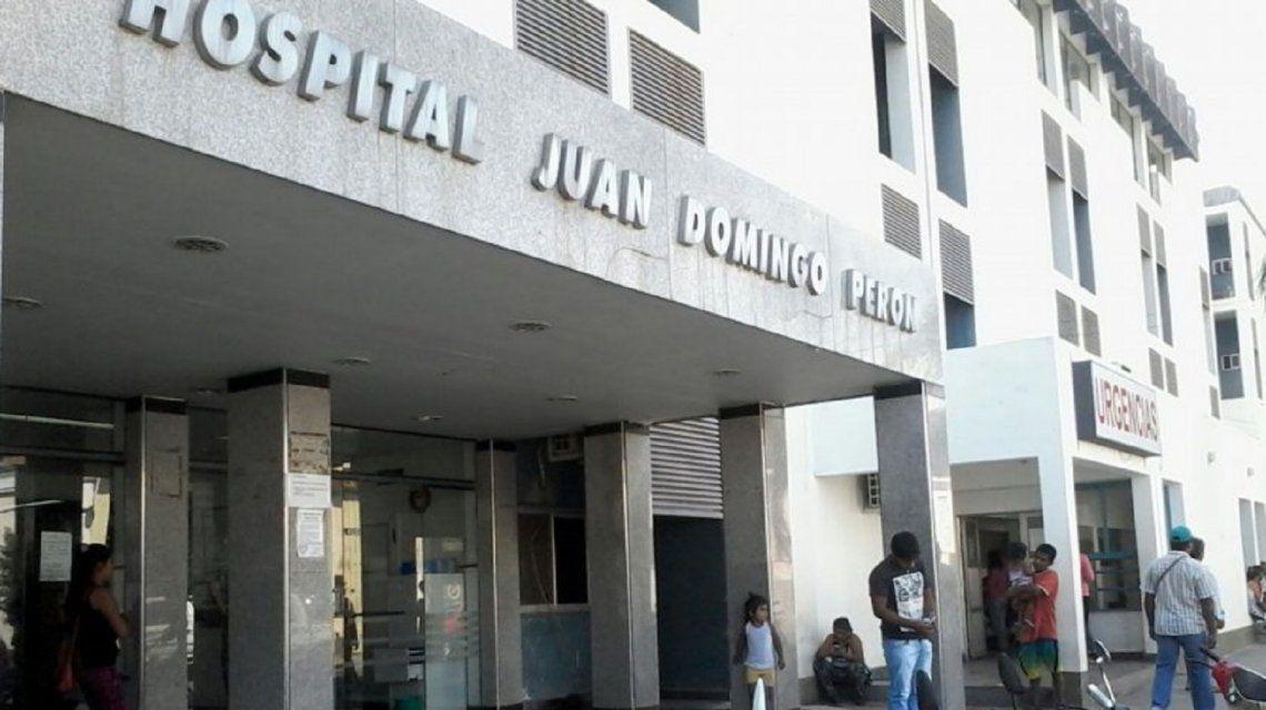 Hospital Juan Domingo Perón donde ocurrió el parto.