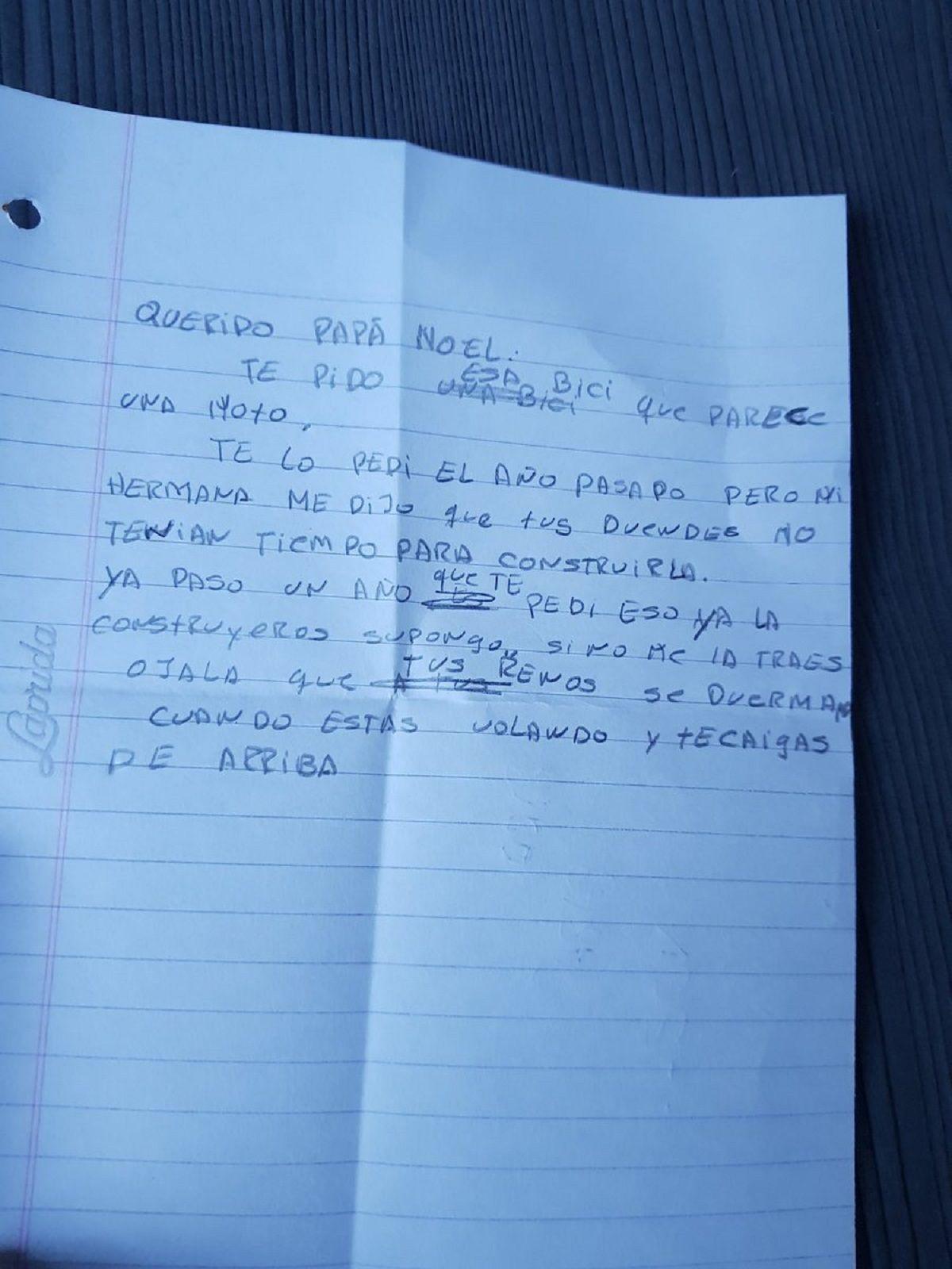 Carta de Eloy a Papá Noel