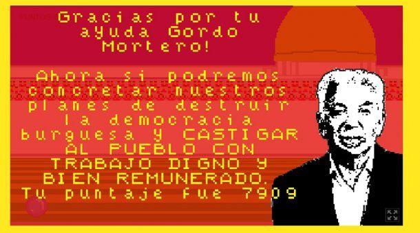 Gordo Mortero, el juego de Shitty Games<br>