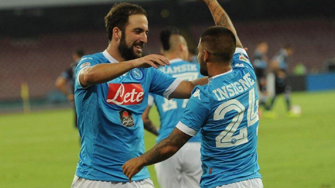 El argentino y el italiano cuando todo era felicidad