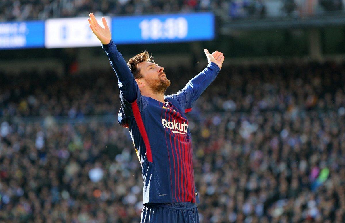 Llora Cristiano: gol y doble récord de Lionel Messi ante el Real Madrid en el Bernabéu