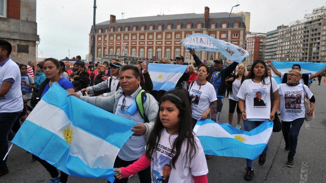 ARA San Juan: las familias de los tripulantes pasarán la Navidad en Mar del Plata