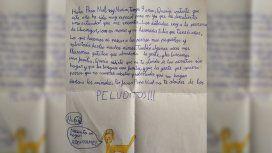 La emotiva carta a Papá Noel de una nena de 9 años