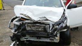 ¡Borrachísima! Un audio dejó en evidencia el estado de una conductora que chocó