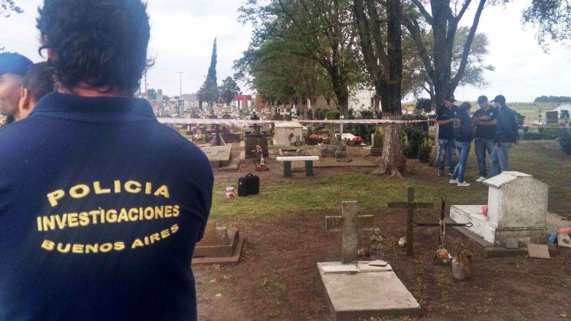 Los padres de Ciro denunciaron su desaparición del cementerio