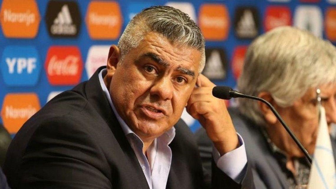 Claudio Tapia, paciente para definir al DT de la Selección: Vamos a tomarnos este semestre