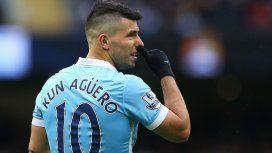El Kun Agüero se iría de Manchester City a Independiente antes de lo planeado