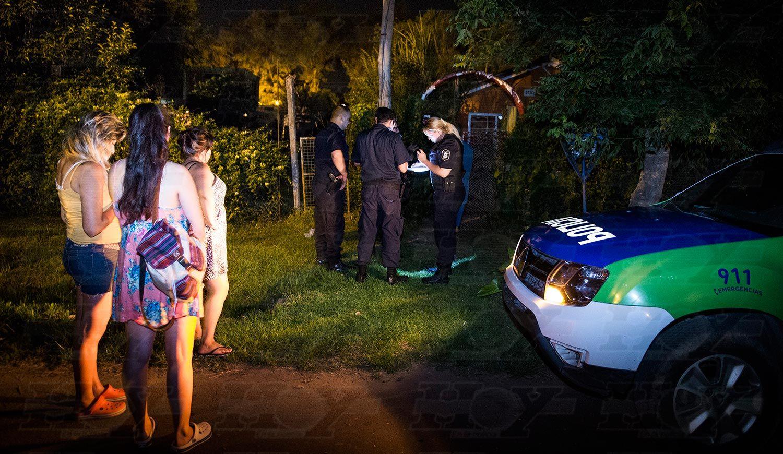 La policía fue al lugar del crimen y el homicida no ofreció resistencia