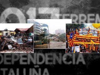 El huracán Irma, la independencia de Cataluña y el terremoto en México: los hechos mundiales que más impactaron a los argentinos en 2017