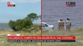 Encuentran un cadáver en el río cerca del anfiteatro de Vicente López