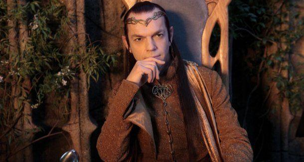<p>El personaje de Elrond es interpretado por el actor Hugo Weaving</p>