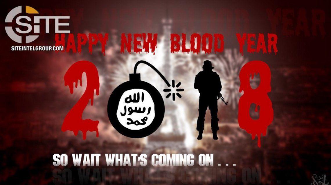 ISIS publicó un video donde amenaza con atacar durante las celebraciones de Año Nuevo