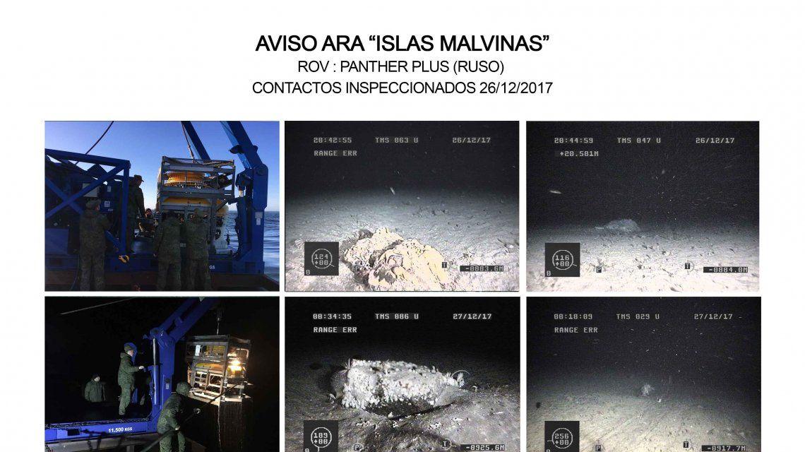 42 días sin el ARA San Juan y ningún indicio: la Armada descartó los nuevos contactos
